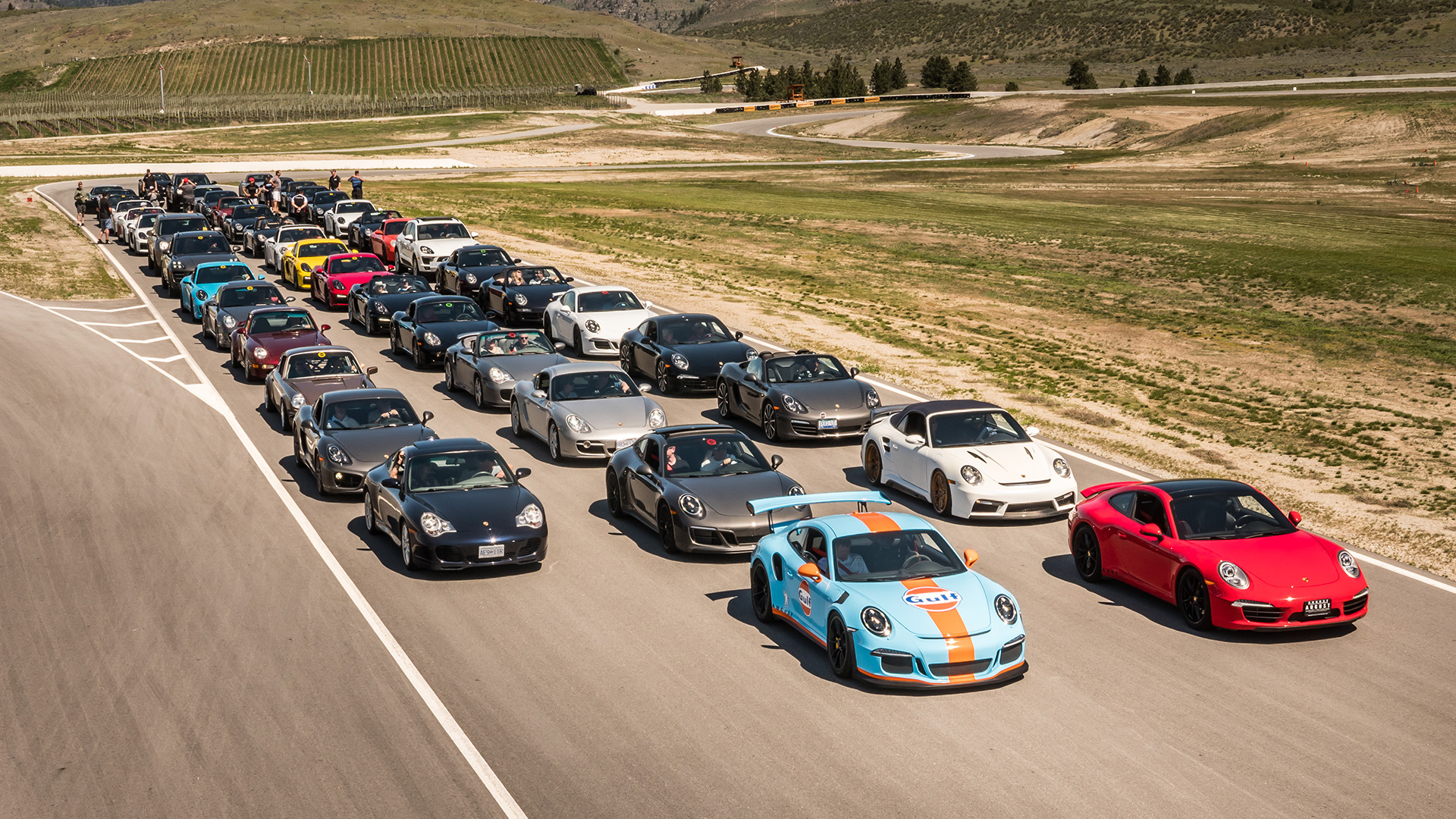August Group Track Day – Porsche-Only – July 6, 2019