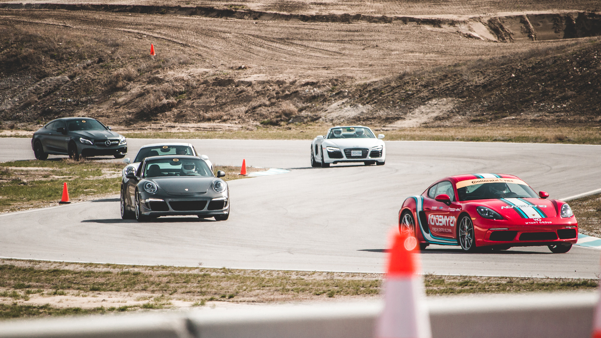 August Group Track Day – July 5, 2019