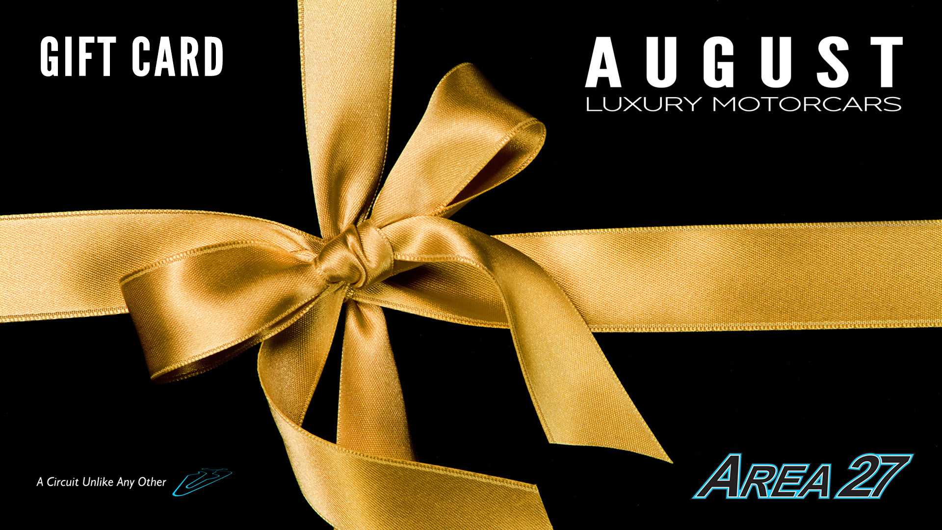 August Group Client Appreciation Track Day Gift Card